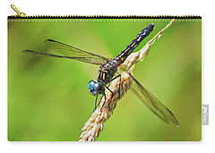 Carry-all Pouch featuring the photograph Meadowhawk by Rodney Campbell