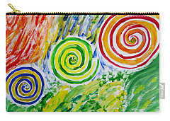 Carry-all Pouch featuring the painting Meditation by Sonali Gangane