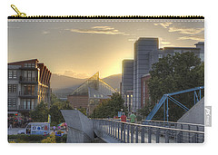 Meeting Bridges Carry-all Pouch