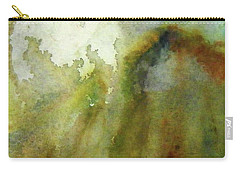 Carry-all Pouch featuring the painting Melting Mountain by Anna Ruzsan