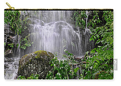 Mendenhall Glacier Flooding Waterfall Juneau Alaska 1542 Carry-all Pouch