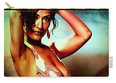 Carry-all Pouch featuring the photograph Mennail by Alice Gipson