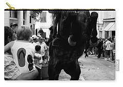 Carry-all Pouch featuring the photograph Menorca Horse 3 by Pedro Cardona
