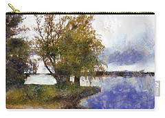 Carry-all Pouch featuring the photograph Merrickville Beach Resort by Mario Carini