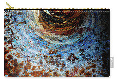 Carry-all Pouch featuring the photograph Metallic Fluid by Pedro Cardona