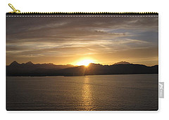 Carry-all Pouch featuring the photograph Mexican Sunset by Marilyn Wilson