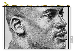 Michael Jordan In 1990 Carry-all Pouch by J McCombie