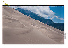 Carry-all Pouch featuring the photograph Miles Of Sand by Colleen Coccia