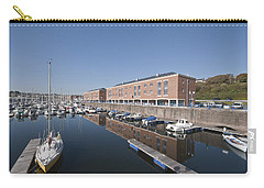 Carry-all Pouch featuring the photograph Milford Haven Marina 2 by Steve Purnell