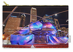Carry-all Pouch featuring the photograph Millennium Park by Sebastian Musial