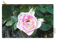 Miniature Rose Carry-all Pouch