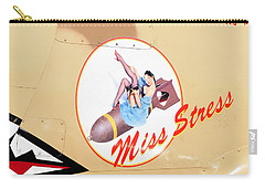 Miss Stress Carry-all Pouch by David Lee Thompson
