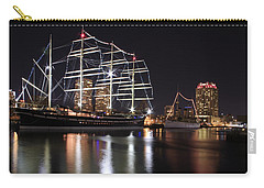 Carry-all Pouch featuring the photograph Missoula At Nighttime by Alice Gipson