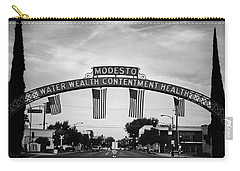 Modesto Arch With Flags Carry-all Pouch