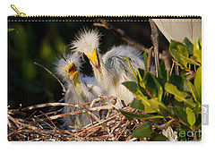 Mom He Stepped On Me Carry-all Pouch