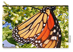 Monarch An Wildflowers Carry-all Pouch