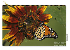 Monarch And The Bee Carry-all Pouch