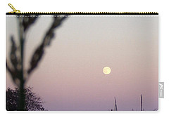 Carry-all Pouch featuring the photograph Moon by Andrea Anderegg