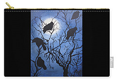 Moonlit Roost Carry-all Pouch