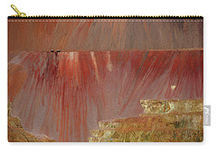 Carry-all Pouch featuring the photograph Morenci Mine by Vicki Pelham