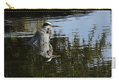 Carry-all Pouch featuring the photograph Morning Bath by Steven Sparks