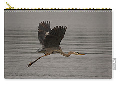Carry-all Pouch featuring the photograph Morning Flight by Eunice Gibb