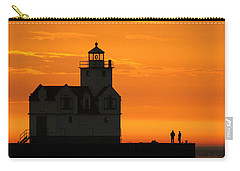 Morning Friends Carry-all Pouch by Bill Pevlor