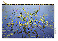 Carry-all Pouch featuring the photograph Morning Reflection by Eunice Gibb
