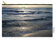 Carry-all Pouch featuring the photograph Morning Surf by Clara Sue Beym