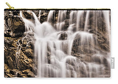 Carry-all Pouch featuring the photograph Morrell Falls 1 by Janie Johnson