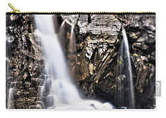 Carry-all Pouch featuring the photograph Morrell Falls 2 by Janie Johnson
