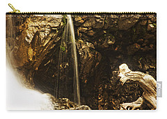 Carry-all Pouch featuring the photograph Morrell Falls 3 by Janie Johnson