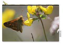 Moth Life Carry-all Pouch by Chriss Pagani
