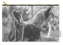 Mother And Pup Carry-all Pouch