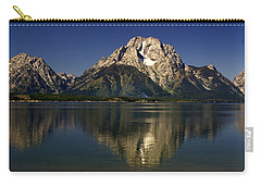 Carry-all Pouch featuring the photograph Moujnt Moran 5 by Marty Koch