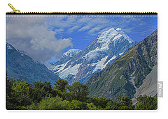 Carry-all Pouch featuring the photograph Mount Cook by David Gleeson
