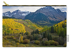 Mount Sneffels Under Autumn Sky Carry-all Pouch