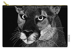 Mountain Lion Carry-all Pouch by Kume Bryant