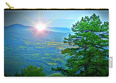 Mountain Sunrise Carry-all Pouch by Dan Stone