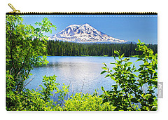 Mt Adams And Takhlakh Lake Carry-all Pouch