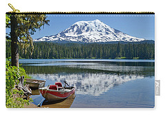 Mt Adams At The Lake Carry-all Pouch