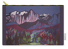 Mt Whitney Carry-all Pouch by Barbara Prestridge