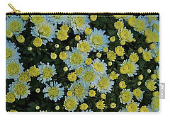 Carry-all Pouch featuring the photograph Mums by Joseph Yarbrough