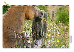Munching On Daisies Carry-all Pouch
