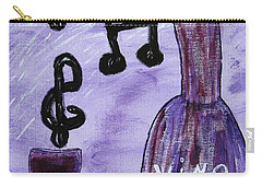 Music In My Glass Carry-all Pouch