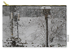 Carry-all Pouch featuring the photograph My Backyard by Donna Brown