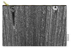Carry-all Pouch featuring the photograph My Fence by Bill Owen