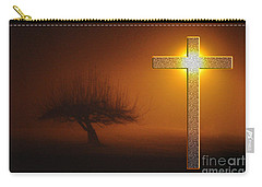 My Life In God's Hands Carry-all Pouch by Clayton Bruster