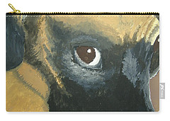 Carry-all Pouch featuring the painting My Name Is Attitude by Norm Starks