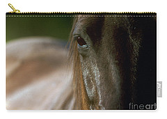 Carry-all Pouch featuring the photograph My Neigh-bor's Horse by Doug Herr